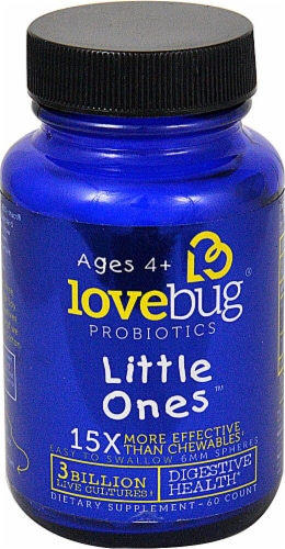 LoveBug Probiotics  Little Ones™ Ages 4 plus Perspective: front