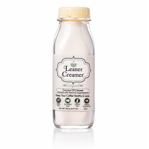 Leaner Creamer Original Coconut Oil Creamer Perspective: front