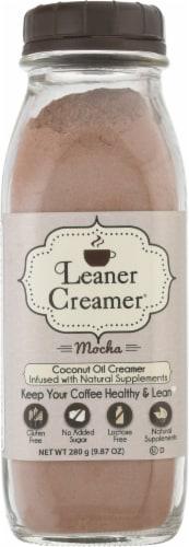 Leaner Creamer  Coconut Oil Creamer   Mocha Perspective: front