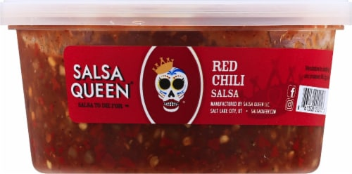 Salsa Queen Red Chili Salsa Perspective: front