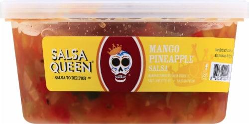 Salsa Queen Mango Pineapple Salsa Perspective: front