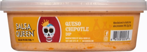 Salsa Queen Queso Chipotle Dip Perspective: front