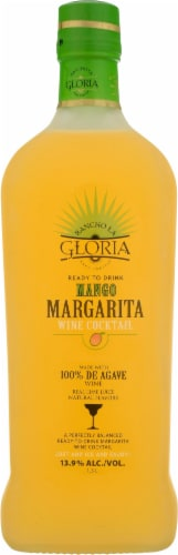 Rancho La Gloria Ready to Drink Mango Margarita Perspective: front