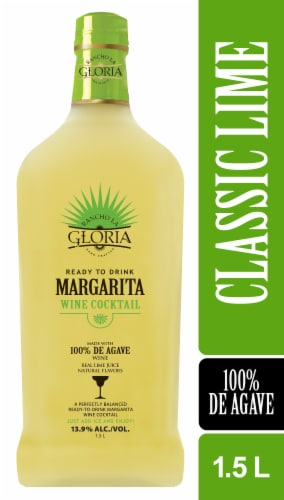 Rancho La Gloria Ready to Drink Classic Lime Margarita Perspective: front