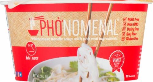 Pho'nomenal Vietnamese Beef Noodle Soup Perspective: front