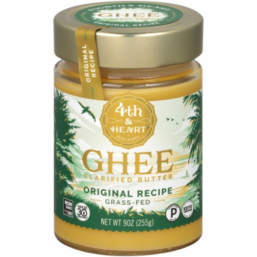4th & Heart Ghee Clarified Butter Perspective: front