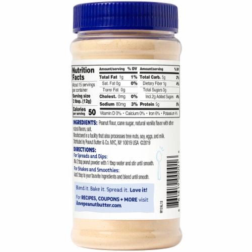 Peanut Butter & Co. Vanilla Peanut Powder Perspective: front
