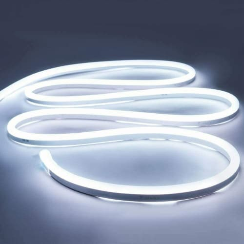 12V Flexible LED Strip Waterproof Sign Neon Lights Silicone Tube (5M - 16.4 FT) white Perspective: front