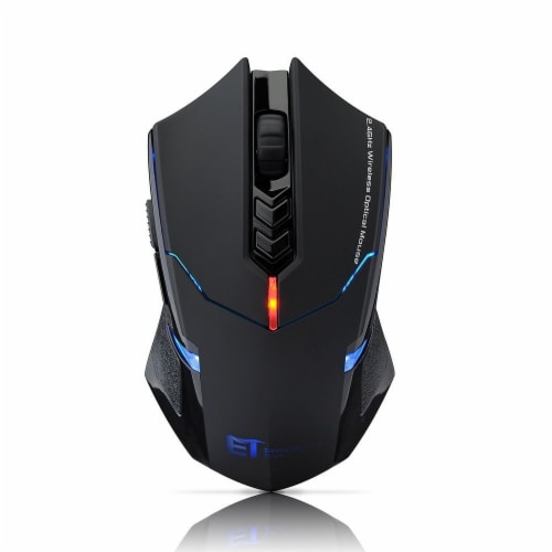 SANOXY 2.4G ET X-08 2000DPI Adjustable Wireless Mini USB Professional Gaming Mouse Mice Perspective: front