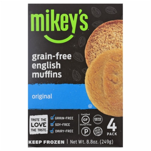 Mikey's Muffins Original English Muffins Perspective: front