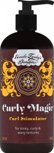 Uncle Funky's Daughter Curly Magic Curl Stimulator Perspective: front
