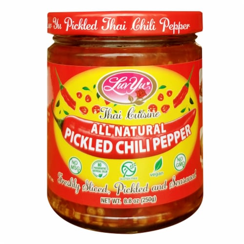 Lu Yu Pickled Thai Chili Pepper Perspective: front