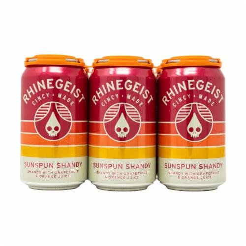 Rhinegeist Rotational Seasonal Beer Perspective: front