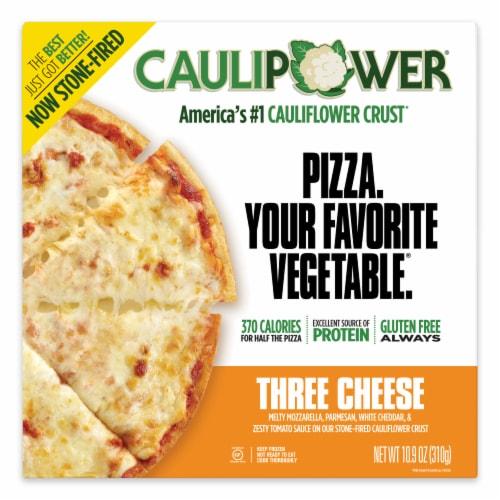 Caulipower Three Cheese Cauliflower Pizza Perspective: front