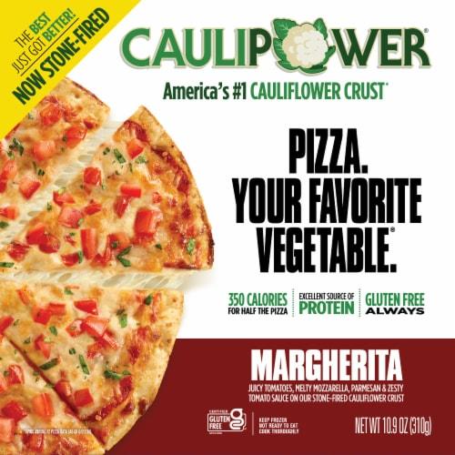 Caulipower Margherita Cauliflower Pizza Perspective: front