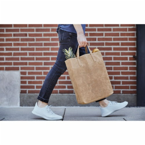 World's Strongest Grocery Bag - Brown Perspective: front