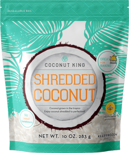 Coconut King Shredded Coconut Perspective: front