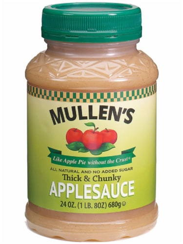 Mullen's Thick & Chunky Applesauce Perspective: front