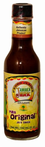 Pedro Plains Jamaica Jerk Pure Original Jerk Sauce Perspective: front