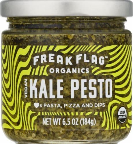 Freak Flag Organics Vegan Kale Pesto Sauce Perspective: front