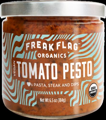 Freak Flag Organics Vegan Tomato Pesto Sauce Perspective: front