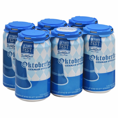 BuckleDown Brewing Oktoberfest German-Style Lager Perspective: front
