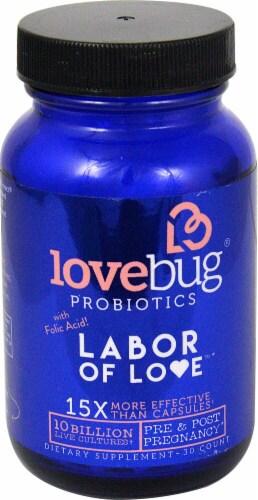 LoveBug Probiotics  Labor of Love™ Perspective: front