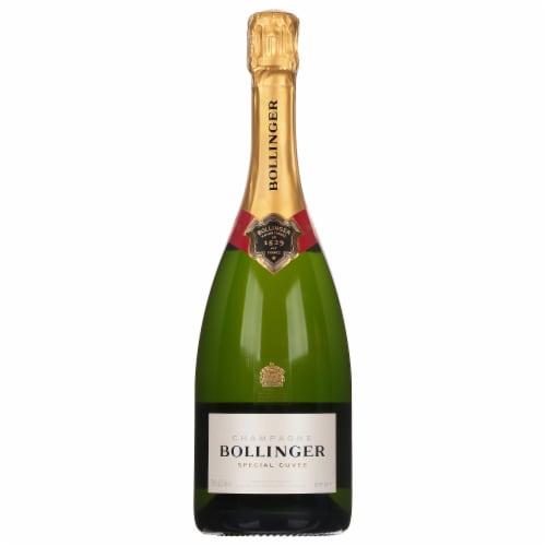 Bollinger Cuvee Brut Champagne Perspective: front