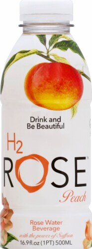 H2rOse Peach Rose Water Beverage Perspective: front