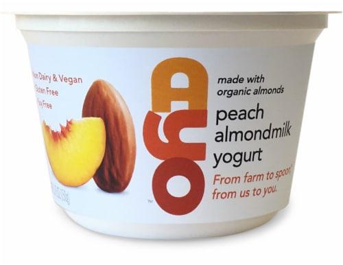 AYO Foods Peach Almondmilk Yogurt Perspective: front