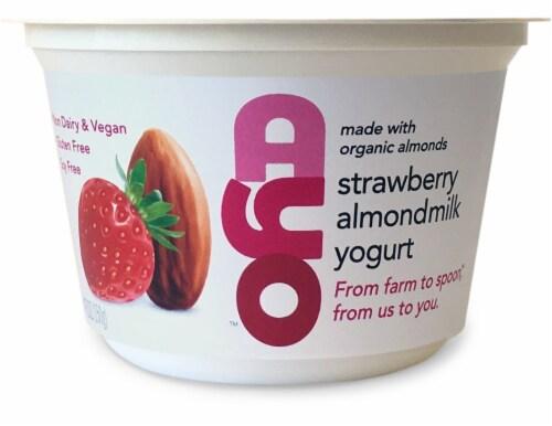 AYO Foods Strawberry Almondmilk Yogurt Perspective: front