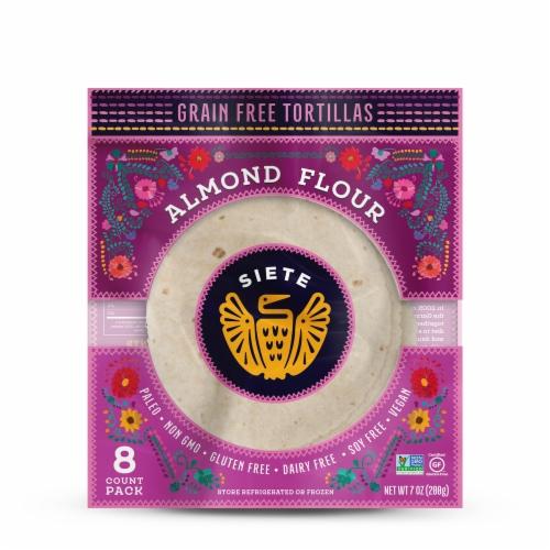 Siete Almond Flour Tortillas Perspective: front