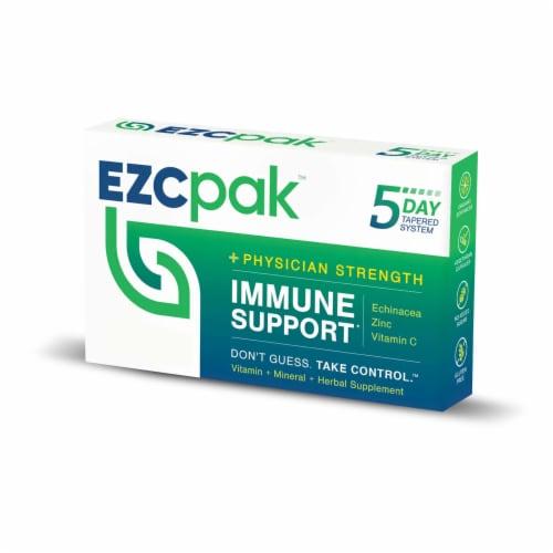 EZC Pak Echinacea ZInc Vitamin C Capsules Perspective: front