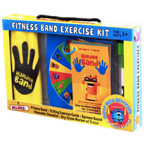 Handee Band Fitness Band Exercise Kit Perspective: front