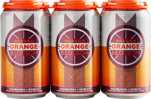 Papago Brewing Co. Orange Blossom Mandarin Wheat Beer Perspective: front
