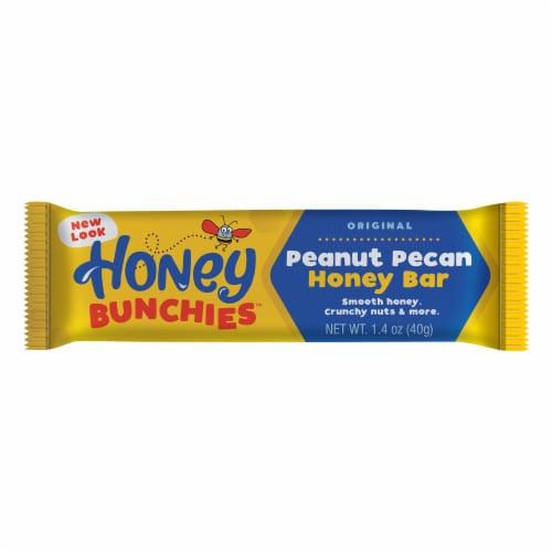 Honey Bunchies Peanut Pecan Honey Bar Perspective: front
