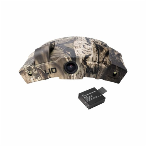 LIDCAM LC-WF Hat Mounted 1080P HD Action Camera with Full Audio and Wifi, Camo Perspective: front