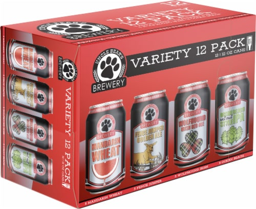Uncle Bear's Craft Beer Variety Pack Perspective: front