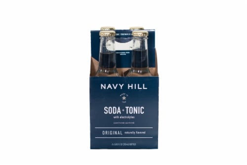 Navy Hill Original Soda & Tonic Perspective: front
