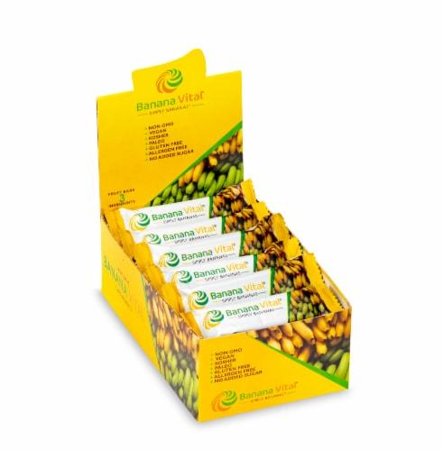 Banana Vital Simply Bananas Fruit Bar Box - 18 Bars Perspective: front