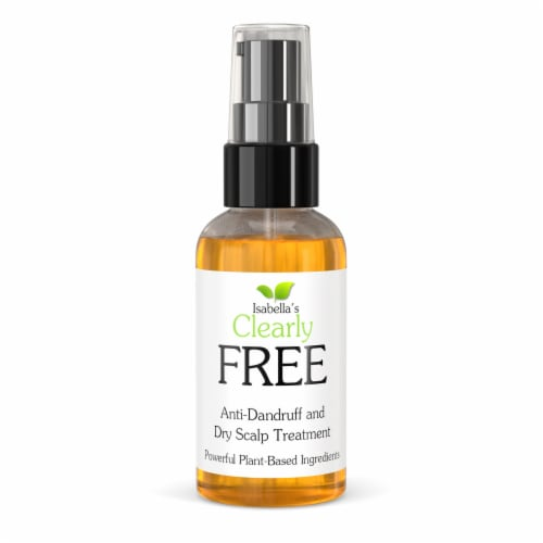 Clearly FREE, Anti Dandruff Hair and Scalp Oil Perspective: front