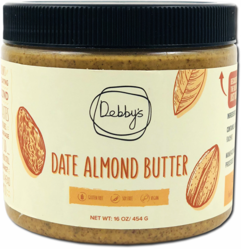 Debby's  Date Almond Butter Perspective: front