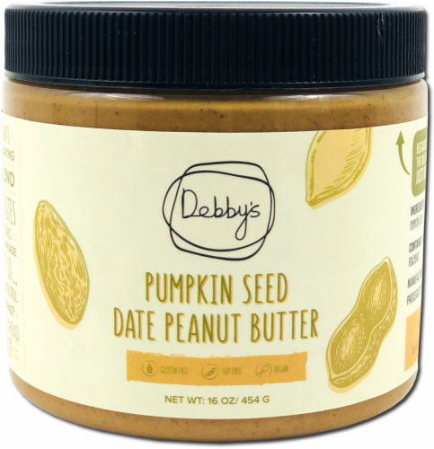 Debby's  Pumpkin Seed Date Peanut Butter Perspective: front