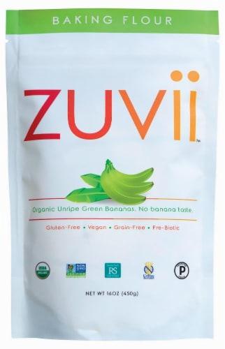 Zuvii Gluten Free Banana Baking Flour Perspective: front