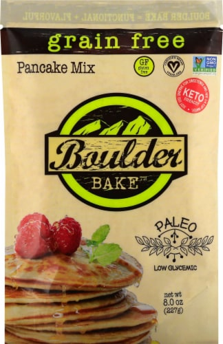 Boulder Bake Paleo Pancake Mix Perspective: front