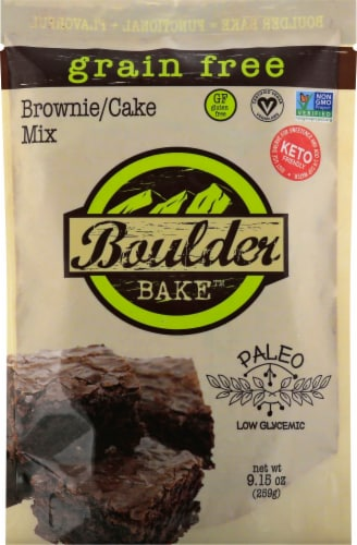 Boulder Bake Grain Free Brownie Mix Perspective: front