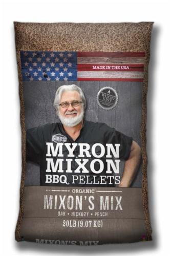 Myron Mixon Blend Wood Pellets 20 lb. Perspective: front