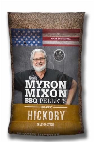 Myron Mixon Hickory Wood Pellets 20 lb. Perspective: front