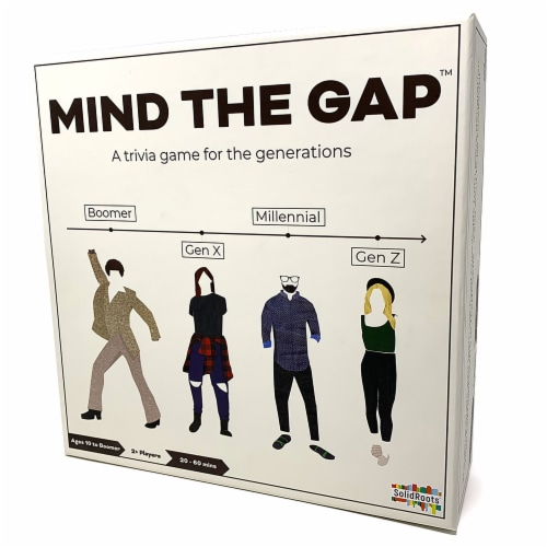 SolidRoots Mind The Gap Trivia Game Perspective: front