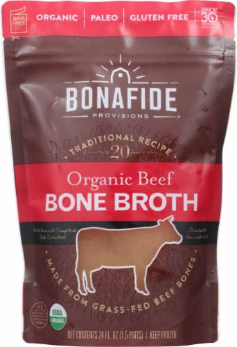 Bonafide Provisions Organic Bone Broth Perspective: front